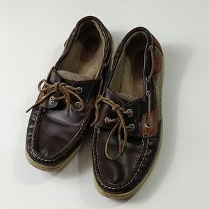 Sperry Topsiders boat shoes size 8